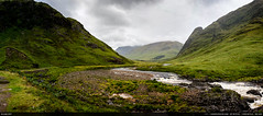 31/52 : River Etive pano (Ludtz) Tags: ludtz canon canoneos5dmkiii 5dmkiii ef35|2is ecosse scotland sco uk unitedkingdom greatbritain grandebretagne green gb glencoe glenetive riveretive highlands ciel sky nuages clouds panorama montagne mountain mountains montagnes river rivière skyfall