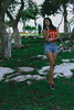 (lenadelray) Tags: canon girl photography sesion mexico modeling guerrero woods tree kitlens amateur portrait