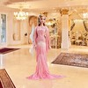 2017 Blush Fringed Gown Barbie (Promo) (1) (Paul BarbieTemptation) Tags: 2017 blush gown barbie pink platinum label claudette carlyle nuera fringed