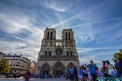 NOTRE-DAME DE PARIS (01dgn) Tags: notredamedeparis notredame travel sky colors blue fransa france frankreich paris