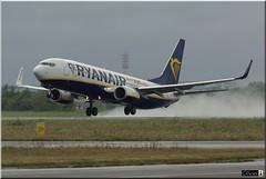 EI-FIO, Ryanair, Boeing 737-8AS(WL) (OlivierBo35) Tags: boeing spotting b737 ryanair nte nantes