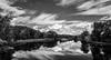 Ammonoosuc River (Nicholas Erwin) Tags: ammonoosucriver bathhaverhillcoveredbridge landscape reflection sky clouds cloudporn skyporn nature waterscape water river blackandwhite monochrome bw nikon d610 2018g woodsville newhampshire nh unitedstatesofamerica usa bathhaverhill fav10 fav25 fav50