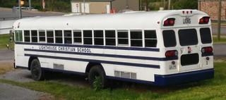 TENNESSEE BLUE BIRD BUS - LIGHTHOUSE CHRISTIAN SCHOOL