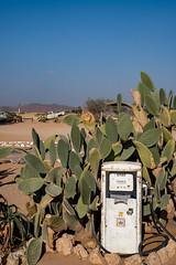 Solitaire Gas Station (RaKra42) Tags: gasstation namib solitaire tankstelle wüste africa age antik antique cactus desert kaktus landforms namibia old plant plants time vintage