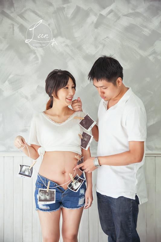中壢,親子寫真,孕婦寫真,林果攝影棚,婚攝花輪Alun