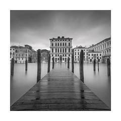 Twenty Faces (Nick green2012) Tags: venice longexposure square jetty architecture blackandwhite buildings