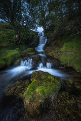 From Water Comes Life (davebrosha) Tags: davebroshaphotography adventure highlands landscape nature outdoors scotland scottish water waterfalls falls green lush fairy