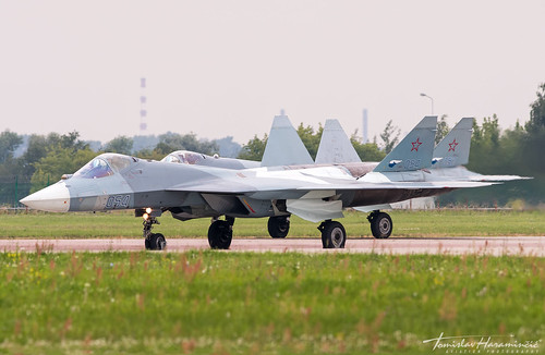 THAP00785 - Sukhoi T-50 Su-57 054 052 Russian Air Force