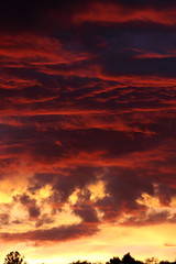 Sunset 8 19 17 #23 (Az Skies Photography) Tags: sun set sunset dusk twilight nightfall clouds cloud red orange yellow gold golden salmon black rio rico arizona az riorico rioricoaz sky skyline skyscape arizonasky arizonaskyline arizonaskyscape arizonasunset canon eos 80d canoneos80d eos80d canon80d august 19 2017 august192017 81917 8192017