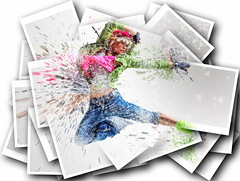 Danse... (VECTOR'IC) Tags: dance hiphop woman fitness acrobat fashion performer color