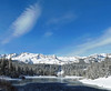 Ice, Twin Lakes, Sierra Nevada, May 2017 (inkknife_2000 (8.5 million views +)) Tags: mammothca springsnowstorm treeswithsnow sierranevadarange freshsnowonground waterreflection usa landscape snow dgraham photo california newsnow morningsnow twinlakes crystalcrag forest iceonlake trees pines firs waterreflections settingmoon moonfall featheryclouds skyandclouds lakes
