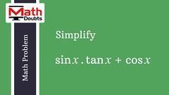 Math Problem (20) (Math Doubts) Tags: problem trigonometry math maths mathematics solution question answer