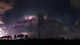 Milky Way over Yeal, Western Australia