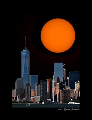 Sun Test - Waiting for the Eclipse (GAPHIKER) Tags: eclipse total lunar totallunarexcipse sun test gull newyork ny statenislandferry statenisland ferry day night happyslidersunday hss orange glow solarfilter solar sunspot ar2671 140000milelong
