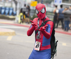 Spiderman (San Diego Shooter) Tags: comicon sdcc sdcc2017 comiccon2017 cosplay portrait sandiego comicconcosplay streetphotography spiderman