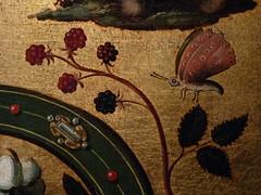 ALLORI Alessandro,1572 - Dossier de Lit avec Scènes Mythologiques et Grotesques, L'Enlèvement d'Europe (Florence) - Detail 09 (L'art au présent) Tags: details détail détails detalles peintures16e 16thcenturypaintings italianpaintings peintureitalienne italianpainters peintresitaliens palaisdesoffices italie italy youngwoman nakedwoman femmenue nuféminin nudefemale bare nude naked nu guitar guitare violon ange music musique trumpet angel firenze abduction kidnapping animal animals animaux bedhead mith or gold adolescent teenager boy garçon youngman youngmen nakedman hommenu numasculin nudemale chameau camel papillon butterfly horses horse fleurs flowers flower bloom