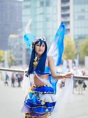 Line & Beauty In Cosplay. (Nattawot Juttiwattananon (NJ)) Tags: cosplay portrait anirevo animerevolution2017 vancouverconventioncentre