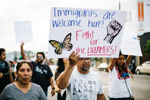 Los Angeles March for Immigrant Rights