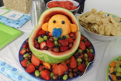 IMG_0816 (sally_byler) Tags: baby shower fruit salad party melons summer ohio