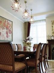 Дизайн интерьера частного дома | столовая