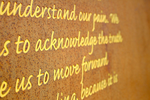 understand, acknowledge, move forward