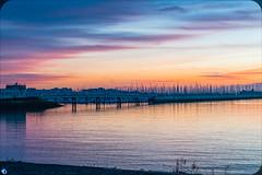 The peaceful marina (bffpicturesworld) Tags: peace landscape sea colorfull beautiful quiet indiansummer harbor marina larochelle rochelle france atlanticocean ocean sunset