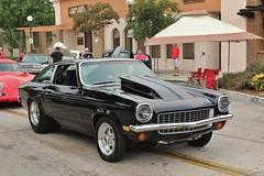 27th Annual Old Town Monrovia Car Show (USautos98) Tags: 1971 chevrolet chevy vega hotrod streetrod custom