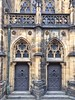 St Vitus side entrance (Cybergabi) Tags: prague 2017 vacation weekendtrip castle pražskýhrad medieval architecture cathedral stvitus basilica church gothic