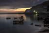 Beach after Sunset (mcalma68) Tags: realmonte scala dei turchi sicilia seascape mountain coastline long exposure serene night