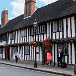Half-Timbered Houses in Stratford upon Avon thumbnail