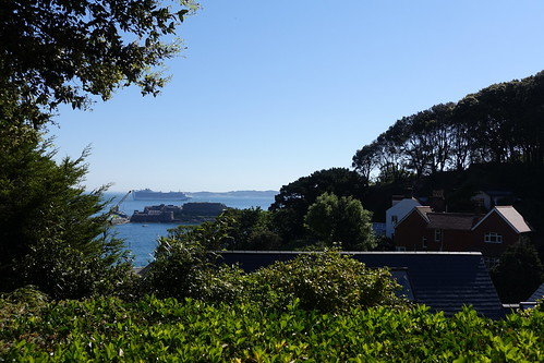 View from the Best Western Hotel de Havelet, St Peter Port, Guernsey