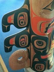 Bill Reid Gallery of Northwest Coast Art (Mariko Ishikawa) Tags: canada britishcolumbia vancouver museum art gallery firstnations heritage history sculpture totempole