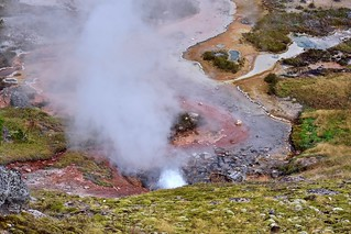 View from Above:  Artists' Paint Pots, Norris Junction, Grand Loop, Yellowstone National Park, Wyoming - 2
