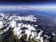 Tropical Island Cloudscape (LifeLover4) Tags: turksandcaicos island clouds aerial windowseat hurricane tropical path hughstickney explore stickneydesign explored interesting interestingness