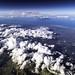 Tropical Island Cloudscape (LifeLover4) Tags: turksandcaicos island clouds aerial windowseat hurricane tropical path hughstickney explore