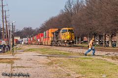 UP 9696 | GE C44-9W | NS Memphis District (M.J. Scanlon) Tags: up9696 cnw8632 up unionpacific cnw chicagonorthwestern ge c449w ns nsmemphisdistrict nsmemphisdistrictwestend norfolksouthern uofm universityofmemphis um runner sprinter dash 222 ns222 memphis tennessee digital merchandise commerce business wow haul outdoor outdoors move mover moving scanlon canon eos engine locomotive rail railroad railway train track horsepower logistics railfanning steel wheels photo photography photographer photograph capture picture trains railfan