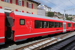 RhB - Articulated Train Alvra (Kecko) Tags: 2017 kecko swiss switzerland schweiz suisse svizzera graubünden graubuenden gr stmoritz europe rhätischebahn rhaetian railway railroad bahn viafierretica rhb eisenbahn zug train agz alvra albula gliederzug stadler familienwagen b57703 swissphoto geotagged geo:lat=46498070 geo:lon=9846370