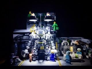 Lego - Exosuit & Aliens