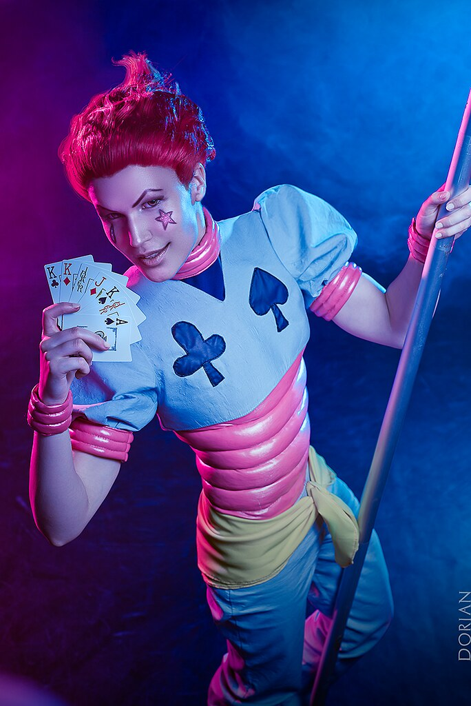 Hisoka Cosplay Explained in detail AnarchyBean 072317  17 4 I know I didnt explain this in detail about how I made everything for Hisoka so Im here to do it now Please they to endure the lack of pictures Step 1 Find reference photos for harem pants