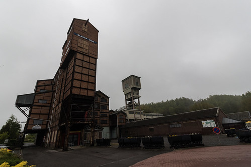 Main entrance Blegny Coal mine