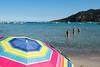 Tutti al mare... (Ste.Viaggio) Tags: mare ombrellone spiaggia sabbia people volley corsica estate azzurro
