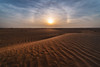 'Ring around the Sun' (Waheed Akhtar Photography) Tags: ring sun sunrise sundog earth science parhelion sundogs halo opticalphenomenon landscape dubai uae exploreuae unitedarabemirates sony sonya7s samyang sky clouds cirrusclouds light shadows dunes desert texture lines atmosphere ngc