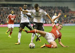 9084533ck (FulhamOfficial) Tags: nottingham forest v fulham championship city ground uk 26 sep 2017 rui fonte kieran dowell during sky bet match at football sport soccer footballer player footballplayer sportsperson personality 63914576