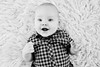 Smile (LalliSig) Tags: kid child photographer iceland portrait portraiture studio white backround black gray high key