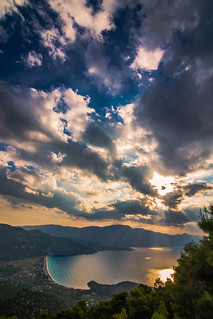 View of Psatha,Greece