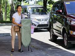 Board (Beegee49) Tags: street filipina anxious ironing board traffic roadside talisay city philippines