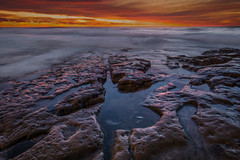 Seaside (EricGail_AdventureInFineArtPhotography) Tags: seascape sandiego sky sunset