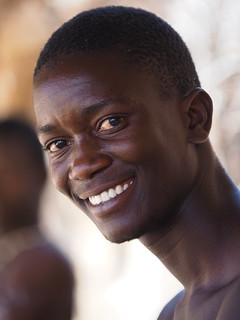 Namibia - Young damara man