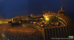 Coffin of king Tut (maged.michel) Tags: king tut egypt ancient pharaoh mask egyptian gold tomb culture antique history art africa face statue isolated sculpture mummy artifact archeology tutankhamen museum tutankhamun head death golden figurine historical old burial white cobra cairo past grave famous giza figure royal funeral coffin tutanchamon sphinx tourism bust tutankhaten god archaeology ruler
