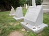 Swan Point Cemetery -- HPL's grave (clareplater) Tags: swanpointcemetery hpl hplovecraft